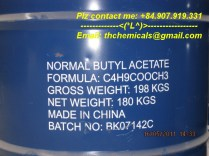 n-butyl acetate - china - new drum